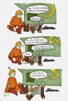 Really Dumb Slash Comic by Allison-beriyani