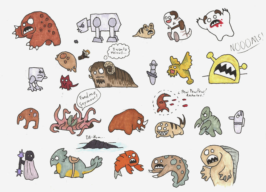star wars the visual dictionary creatures