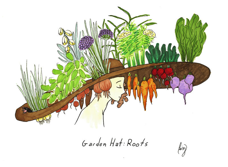 Garden Hats Roots by Allisonberiyani on DeviantArt