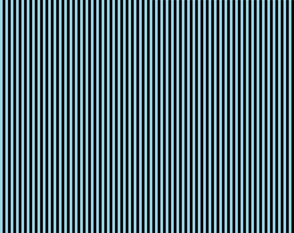 Black blue black strip