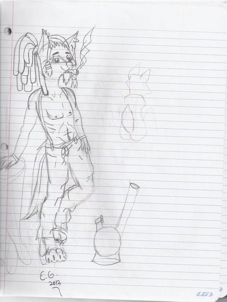 Sketch - Josh by FilleDePatriote
