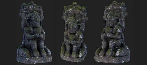 statue Chimu Jungle by tosbin