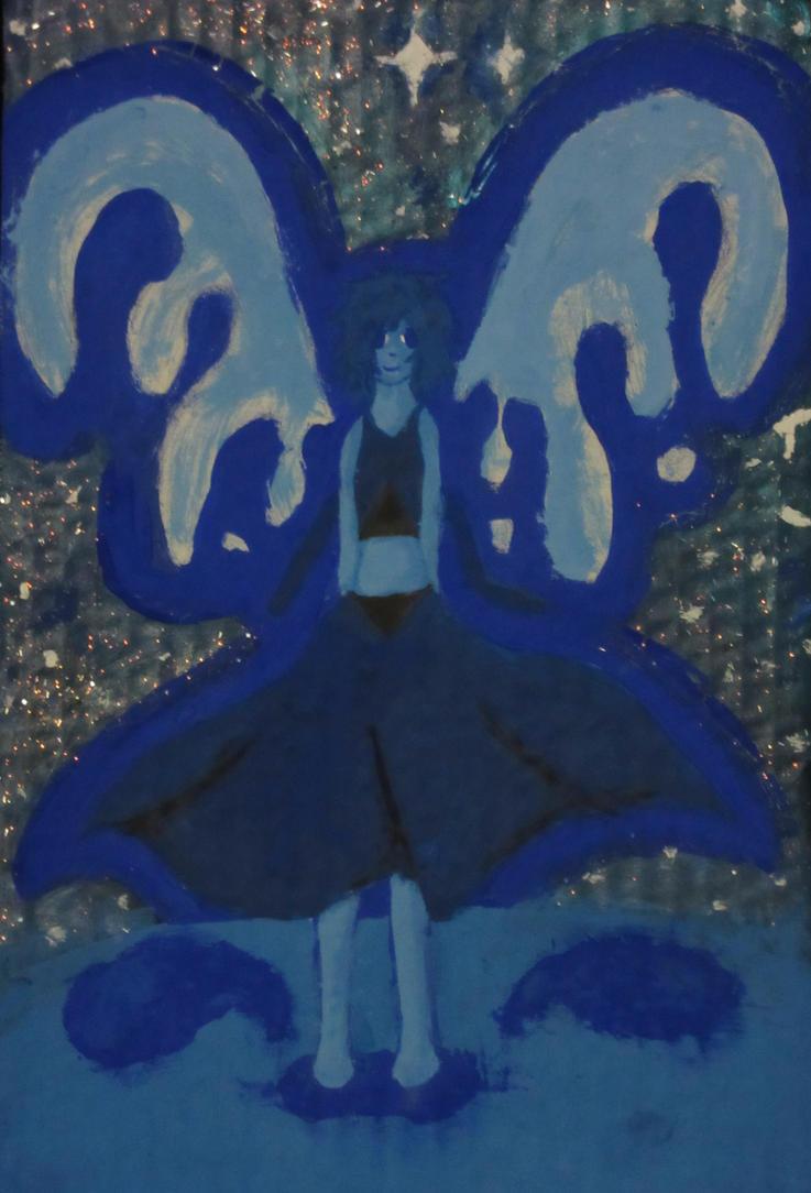 lapis lazuli steven universe fan art by