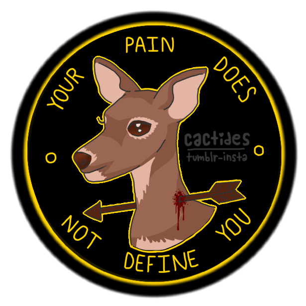 Your pain does not define you by BeingOfMalevolence