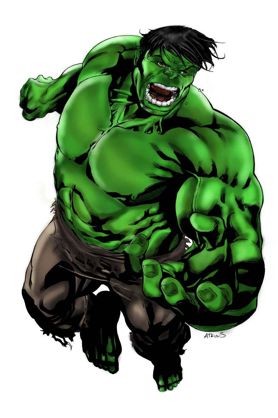 incredible hulk art gallery - photo #30