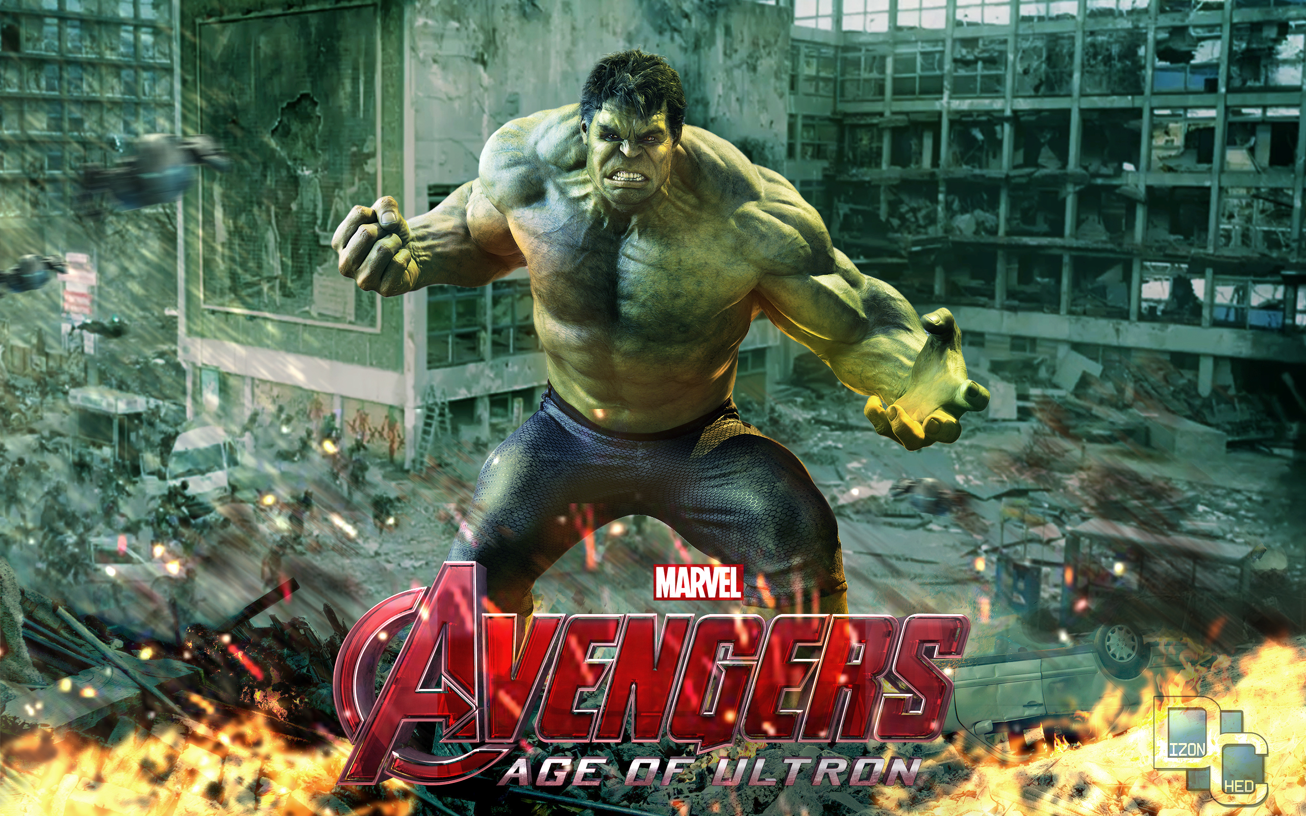 Avengers age of ultron the incredible hulk by - Incredible hulk wallpaper avengers ...
