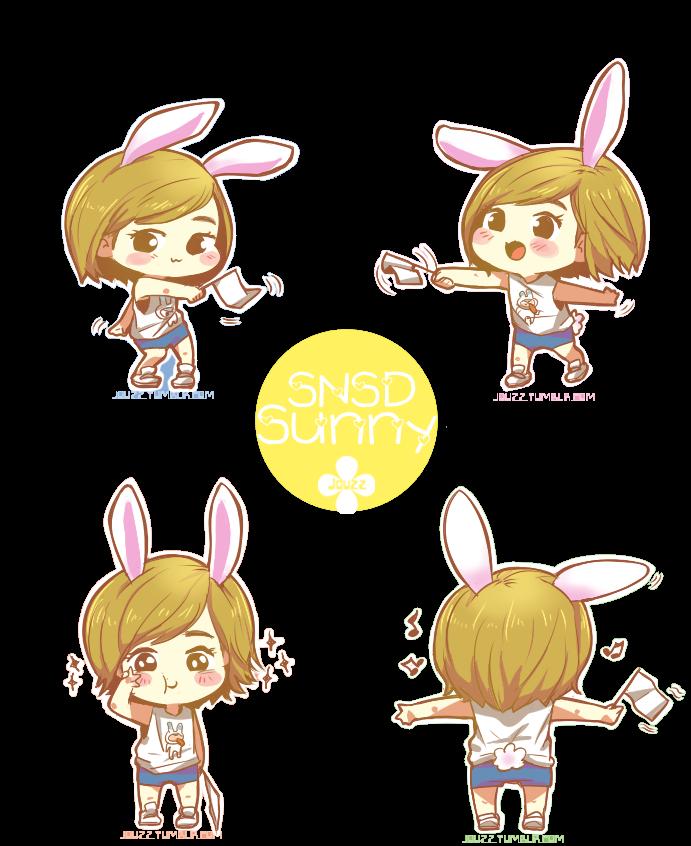 SNSD Sunny Chibi PNG by HyoyeonEdits