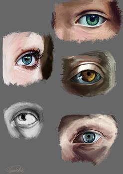 Eye spy with my wittle I
