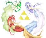 hyrule's three goddesses