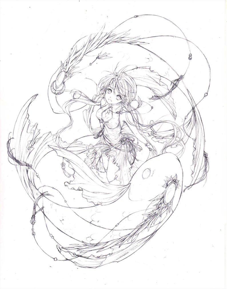 Valentines Otome Fan Art Thread Pisces_with_ying_and_yang_by_chocobikies-d62p8il