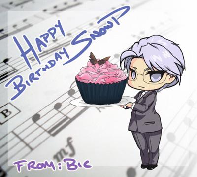 happy birthday snowp! by chocobikies