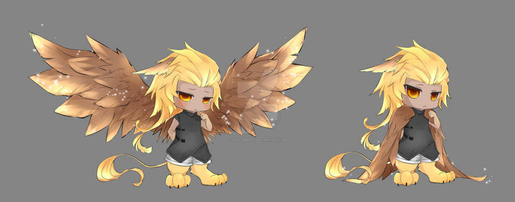 Flying Lessons II: Charater Suggestion Thread Chibi_fantasy_hybrid___griff_by_chocobikies-d8271e1