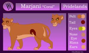 Marjani Reference Sheet