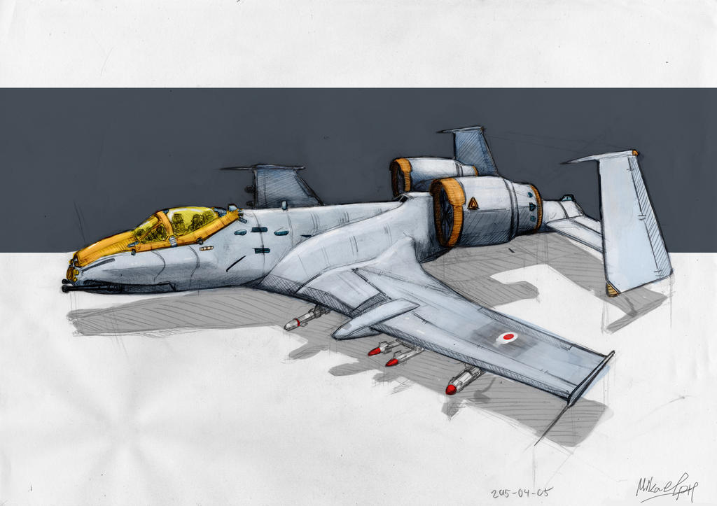 A-10 thunderbolt II by Audiomph