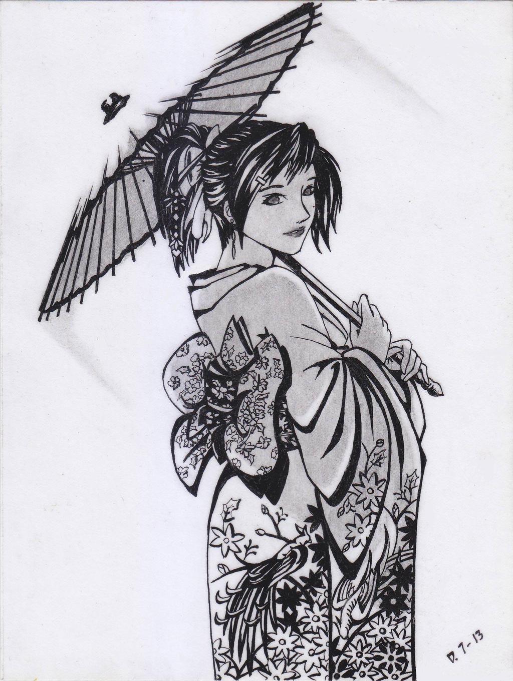 My Kimono Girl ( DS ) by Dadosgila