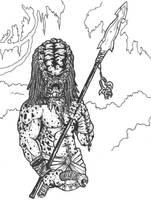 Ancient Predator by DementedInk