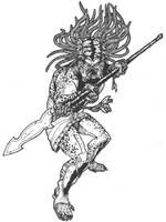 Ancient Pred Warrior by DementedInk