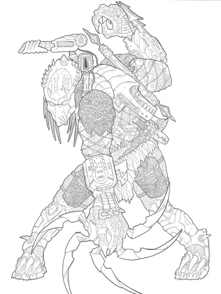 predators coloring pages Predator Color Page | CINEMAS 93 predators coloring pages