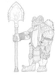 Shovel Master Dwarf