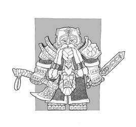 Dwarf 2 by DementedInk