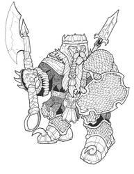 Dwarf10 by DementedInk