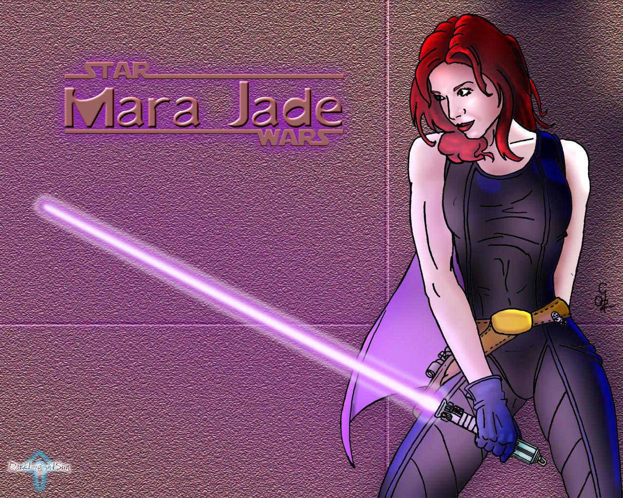 Mara Jade by darklightsun