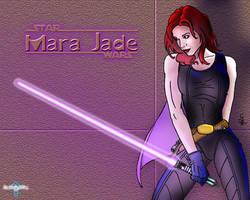 Mara Jade by darklightsun