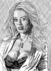 Jeri Ryan by darklightsun