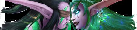 Illidan and Tyrande - The Kiss