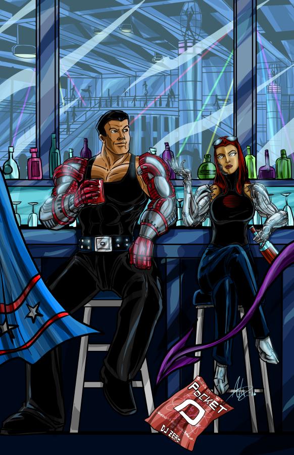 The Cybros by StrongBob