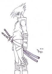 ninja samurai by whyX