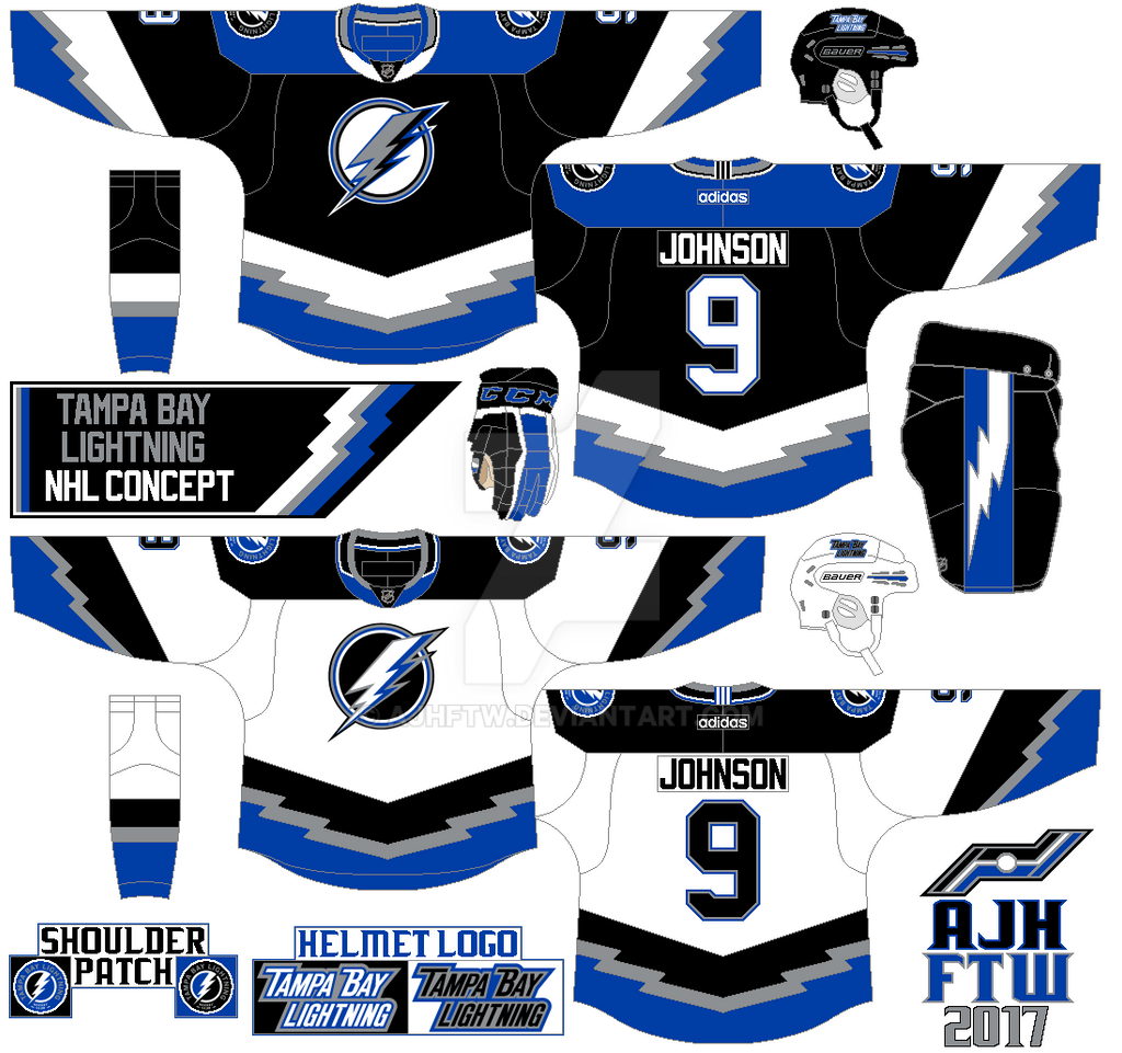 Tampa Bay Lightning Adidas Concept By AJHFTW On DeviantArt