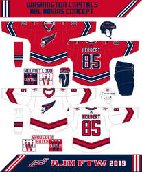 Washington Capitals Concept 2019 by AJHFTW