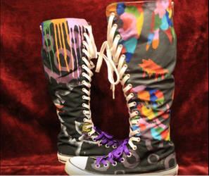 Gamzee Makara Shoes V2 by Angel-Wolf-Hagane