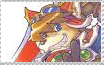 Red Savarin stamp by PunkHound