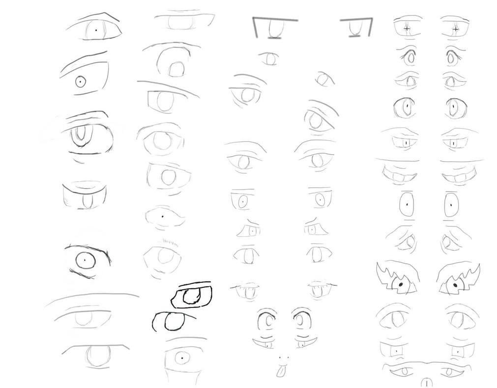 Eye Practice by UtterlyDevoid