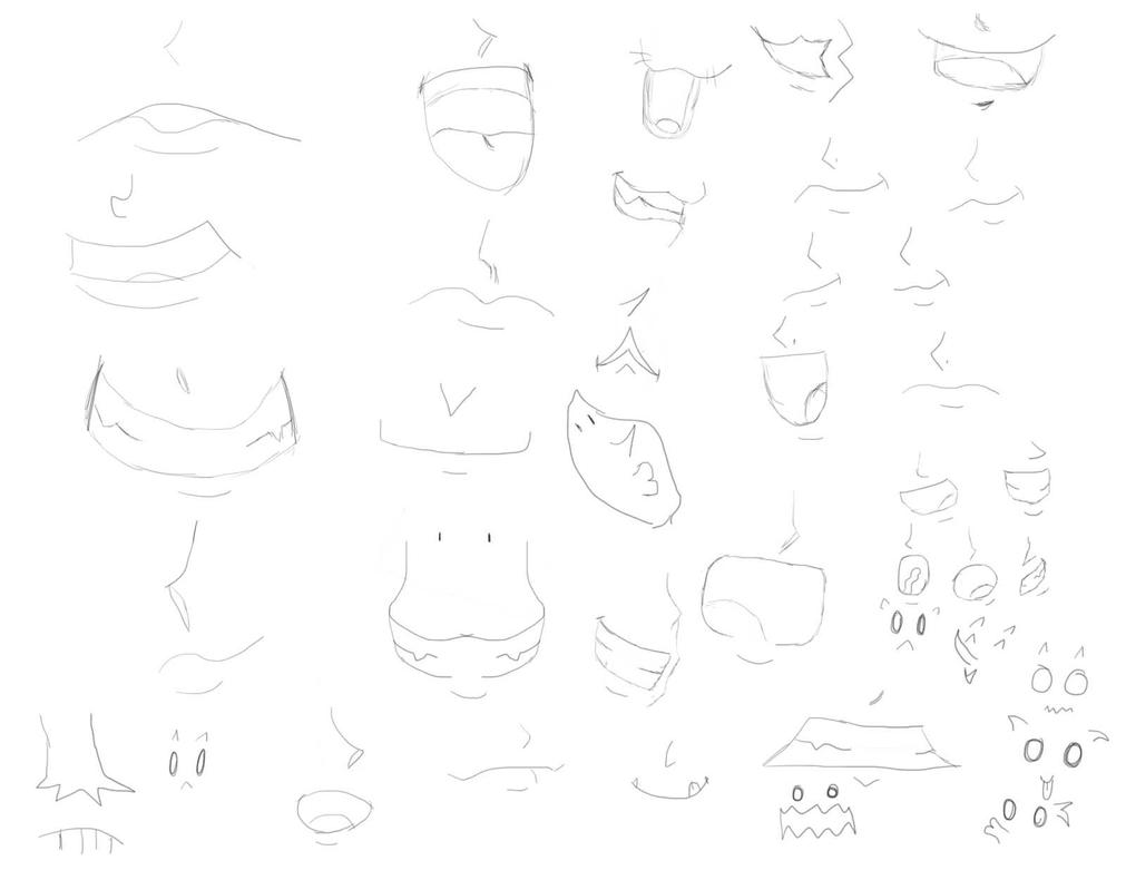 Mouth Practice by UtterlyDevoid