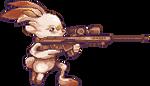 Pokemon Gun: Scorbunny by TerracotaScarf