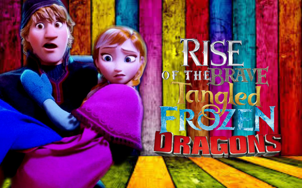 Kristanna-Rise of the Brave Tangled Frozen Dragon by anfran119Frozen Tangled Brave