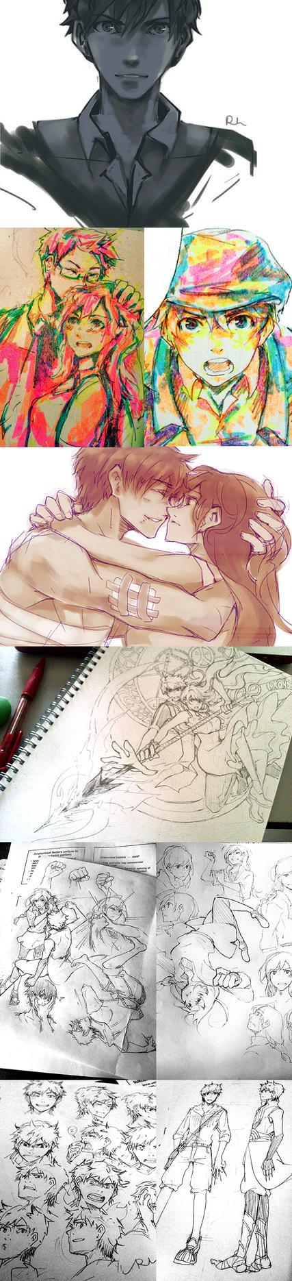 sketch log by pchaness