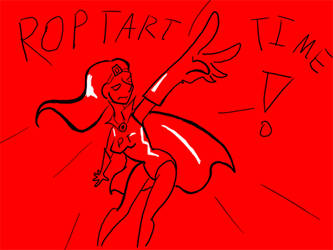 Pop Tart Woman by tastysouls