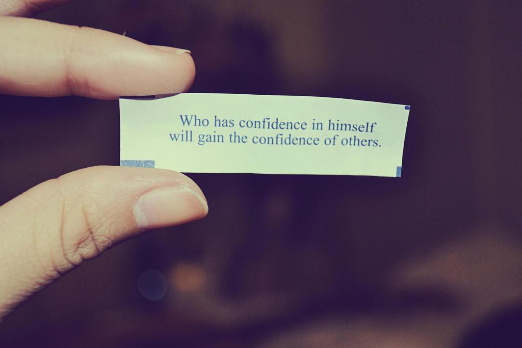 confidence by Uchisune