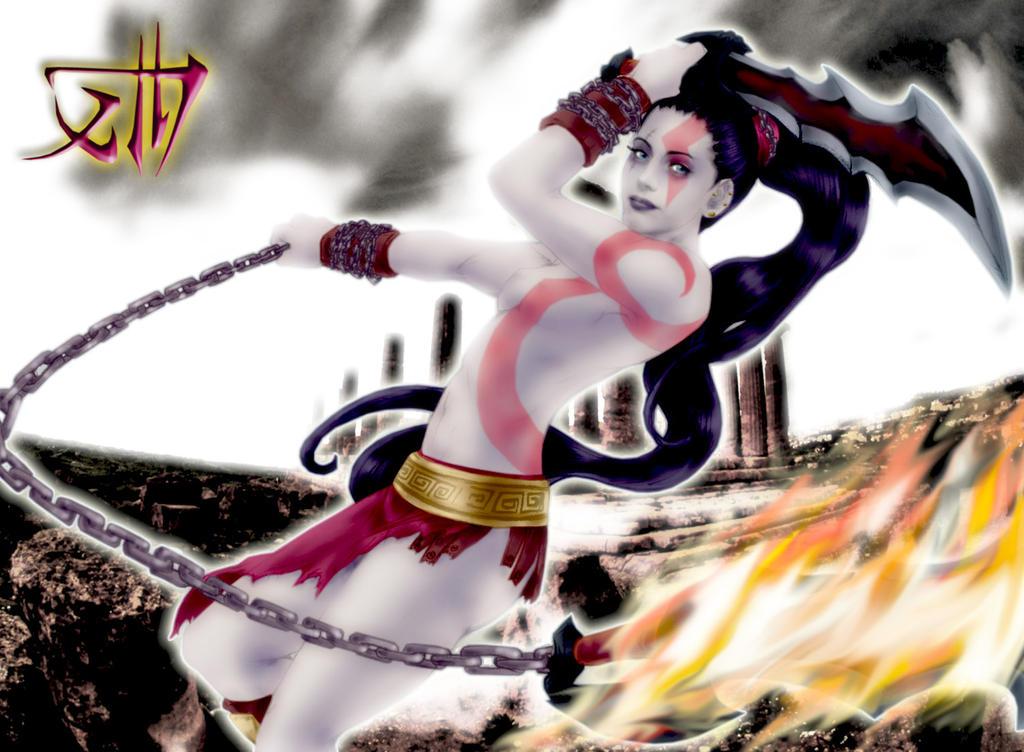 Goddess Of War: Kratosoun by AlchemistXIII