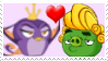Gale x Handsome Pig Stamp by Evalasting-Hope