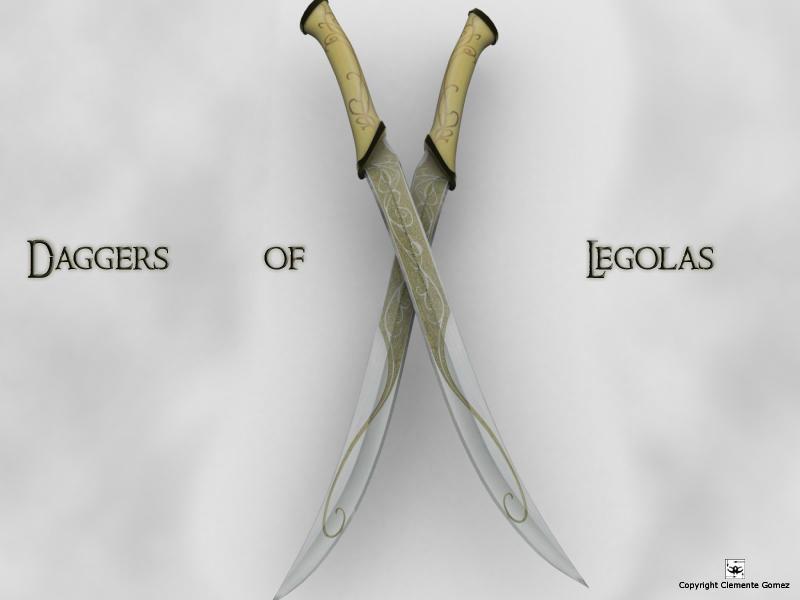 Daggers of Legolas by cg219