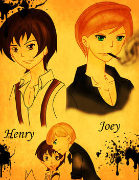 Henry and Joey colored