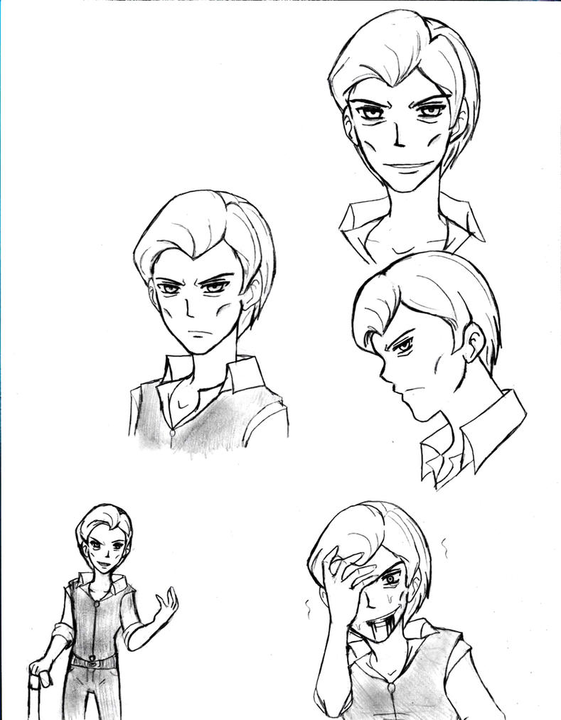 Older Joey Sketches by Atsyrc