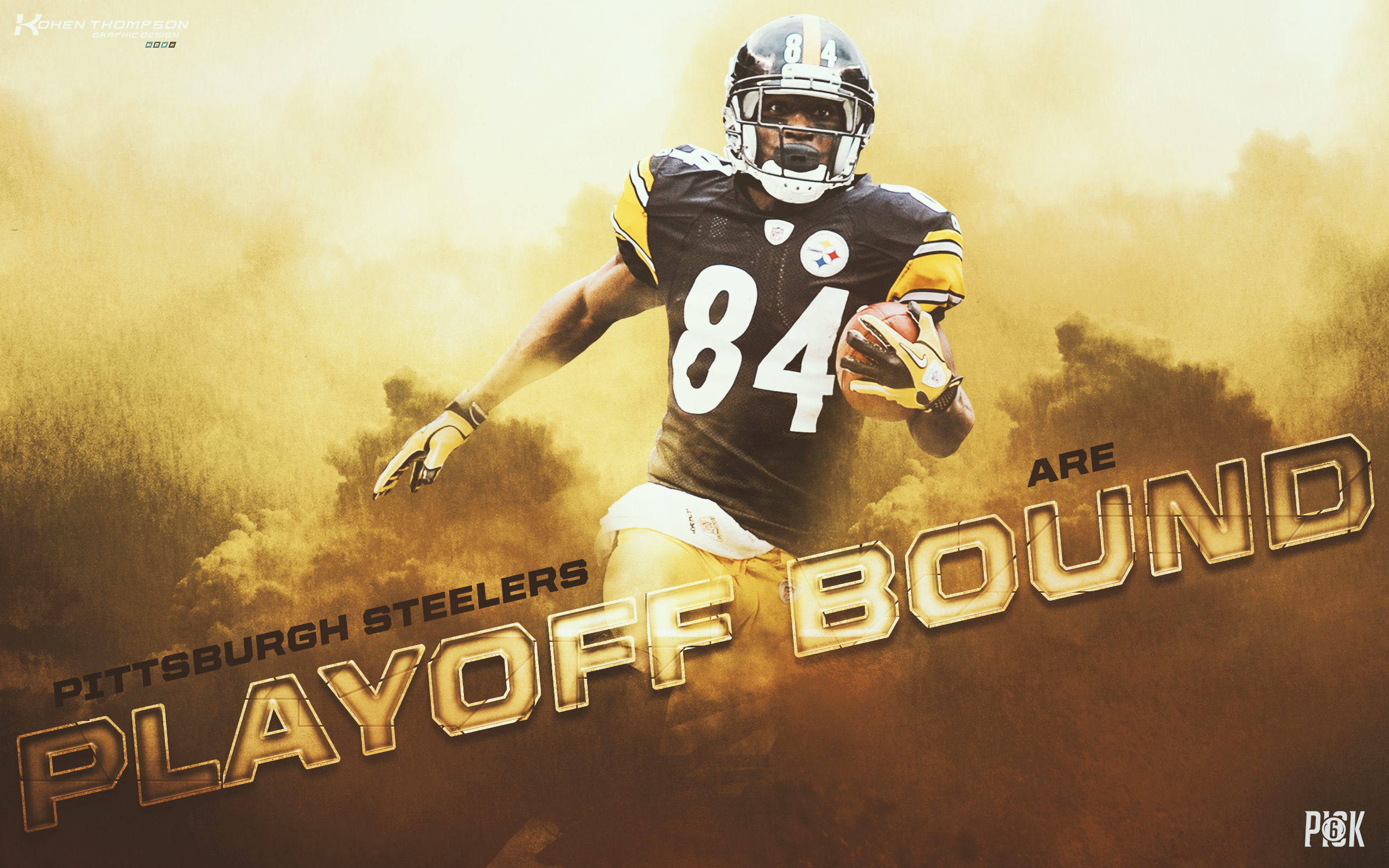 Antonio Brown - Playoff Bound