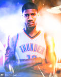 Paul Gereorge to the OKC Thunder Post