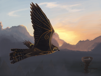 The Watcher - Commission by Nimure